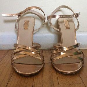 Forever 21 Rose gold heels